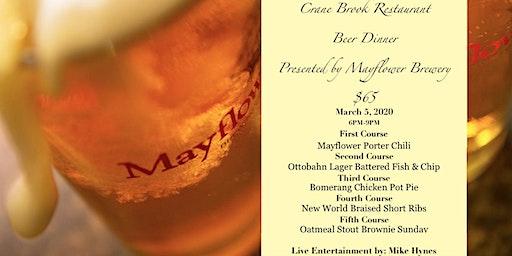 Crane Brook Restaurant Beer Dinner Presented by Mayflower Brewery
