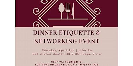 USF/AMGEN Professional Etiquette Dinner tickets