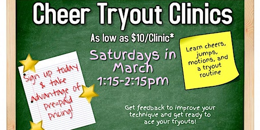 Cheer Tryout Clinics
