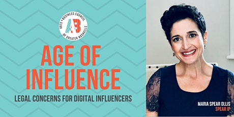 Age of Influence CLE: Legal Concerns for Digital Influencers tickets