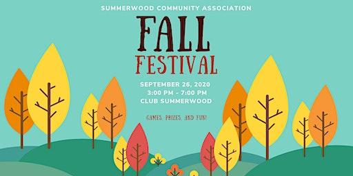 Summerwood Fall Festival 2020