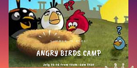 Angry Bird Summer Camp tickets