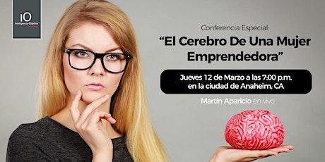 El Cerebro De Una Mujer Emprendedora - Con Martín Aparicio en Vivo tickets