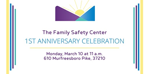 Family Safety Center One Year Anniversary Celebration
