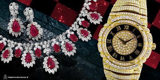 Richmond, BC 03.01.2020 at 1pm – Fine Jewellery & Swiss Watch Live Auction