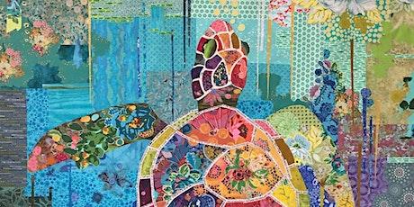 Tiny 'Sea Turtle' Laura Heine Fabric Collage Class tickets