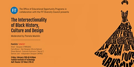 The Intersectionality of Black History,  Culture and Design tickets
