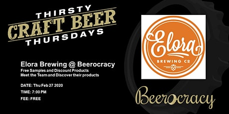 Thirsty Thursday - Elora Brewing tickets