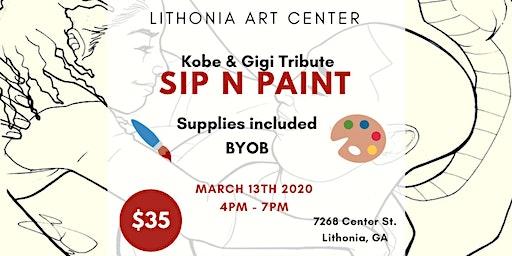 SIP N PAINT - Kobe & Gigi Tribute