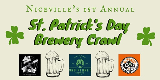 Niceville St. Patrick's Day Brewery Crawl