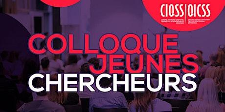 13e Colloque Jeunes Chercheurs du CIQSS billets