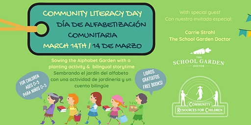 Community Literacy Event at CRC