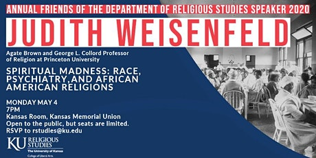 2020 Friends of the Department of Religious Studies Speaker tickets