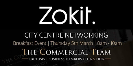 Zokit City Centre - Business Networking tickets