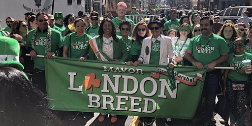 Mayor Breed's St. Patrick's Day Parade Contingent