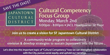 Japantown Cultural District: Cultural Competency tickets