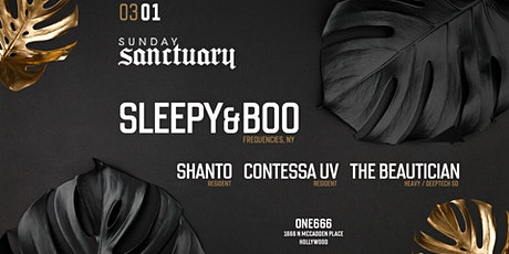 Sunday Sanctuary presents: SLEEPY & BOO, SHANTO, THE BEAUTICIAN tickets