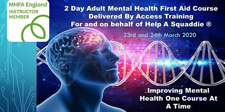 2 Day Adult Mental Health England First Aid Course tickets