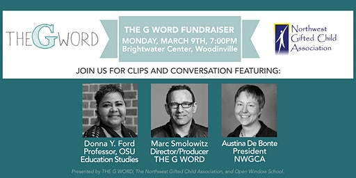 Clips & Conversation: Join THE G WORD In Woodinville, WA on Monday, March 9