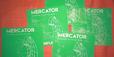 Lancement de MERCATOR, un fanzine de cartographie - #02 REFLET billets