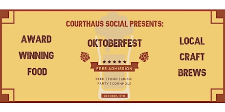 Courthaus Social's 5th Annual Oktoberfest tickets