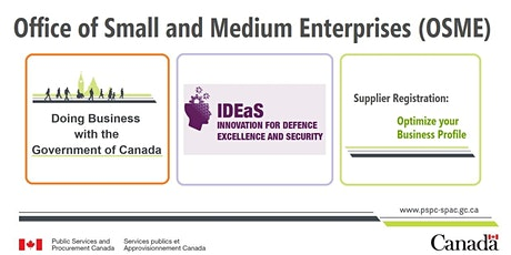 Office of Small and Medium Enterprises 3-in-1 Seminar/ Webinar tickets