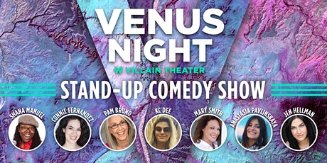 Venus Night - Stand-Up Comedy Show at Villain Theater tickets