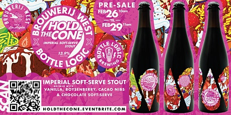 HOLD THE CONE SOFT-SERVE STOUT PRE-SALE tickets