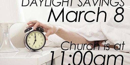 DAYLIGHT SAVINGS SERVICE TIME