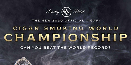 Cigar Smoking World Championship at Finck's