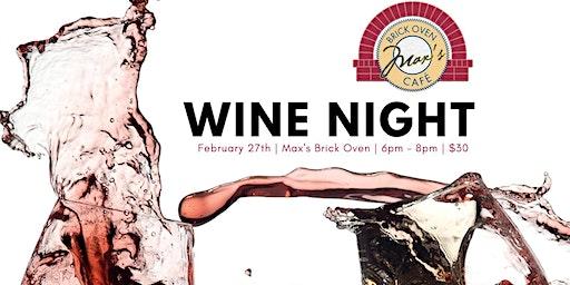 Max's Wine Night