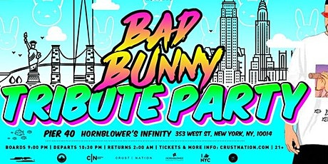 The BAD BUNNY TRIBUTE LATIN BOAT PARTY Yacht Cruise NYC tickets
