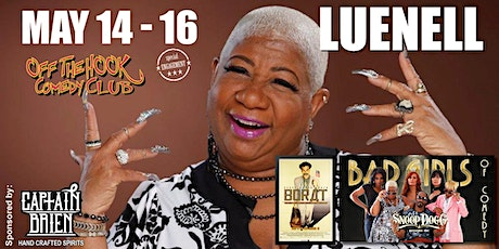 Comedian Luenell Live In Naples, FL Off The Hook Comedy Club tickets