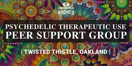 Psychedelic Therapeutic Use Peer Support Group Oakland  tickets