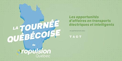 Tournée québécoise de Propulsion Québec |Longueuil