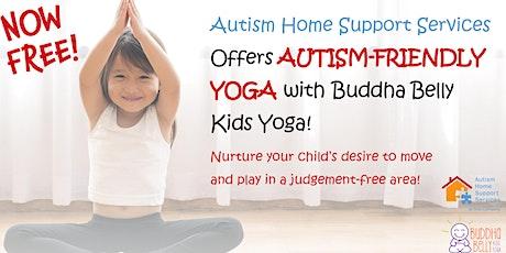 Autism Friendly Yoga-AHSS  & Buddha Belly Kids Yoga Team Up! tickets