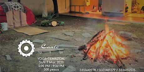 Yoga + Temazcal MARZO boletos
