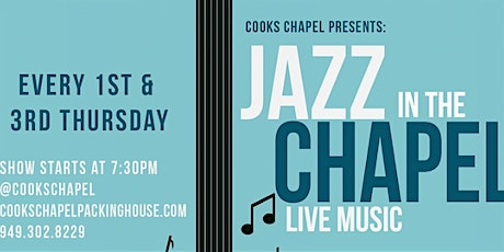 Jazz in the Chapel tickets