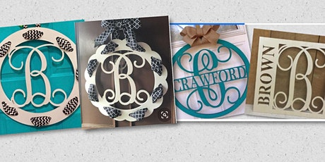Monogram Door Hangers tickets