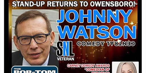 Johnny Watson from Comedy Central