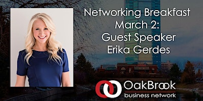 Oak Brook Networking Breakfast March 2nd