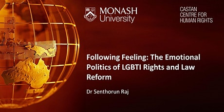 Following Feeling: The Emotional Politics of LGBTI Rights and Law Reform tickets