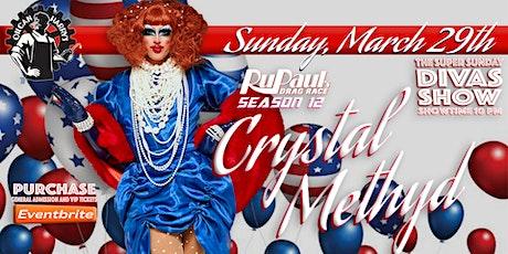 RuPaul's Drag Race Season 12 - Crystal Methyd joins the Super Sunday Diva Show tickets