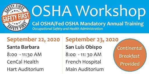 OSHA Workshop: Cal-OSHA Office Staff Training San Luis Obispo