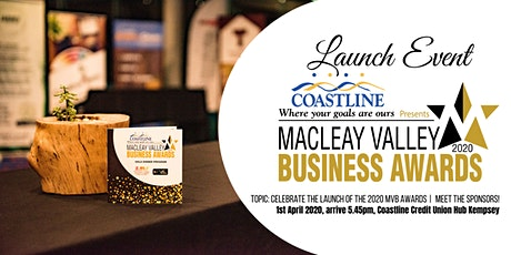 2020 Macleay Valley Business Awards Launch Event tickets