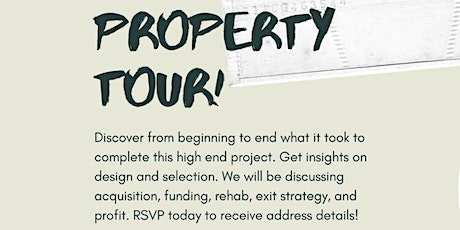 Fix and Flip Property Tour tickets