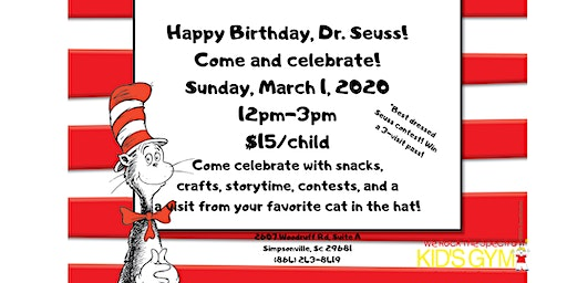 Dr. Seuss Birthday Party!