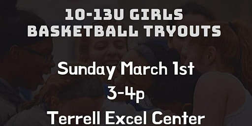 10-13u Girls Basketball Tryouts