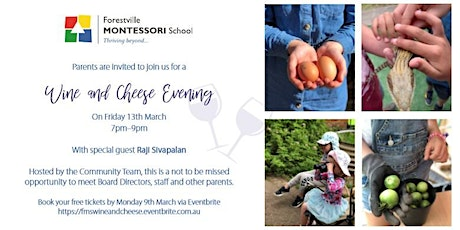 FMS Wine & Cheese Evening tickets