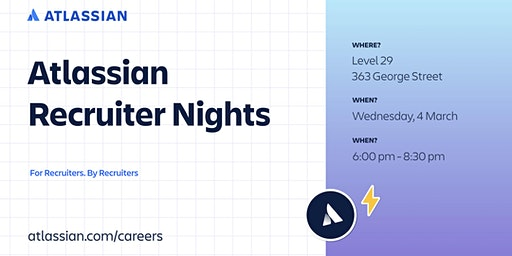 Atlassian Recruiter Nights
